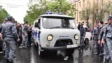 Police In Yerevan Detain Dozens Of Protesters