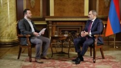 RFE/RL Interview: Pashinian Says 'The People Must Decide' Who Will Be Prime Minister