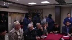 «Візит ввічливості». Російські силовики прийшли на засідання «Кримської солідарності» (відео)