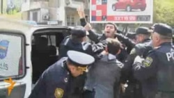 Baku Police Break Up Hijab Protest