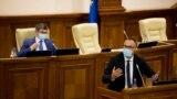 Ministrul Justiției, Sergiu Litvinenco, în Parlament