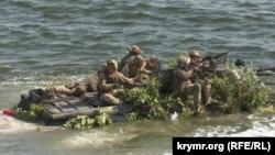 Военные учения «Объединенные усилия – 2020» подразделений украинских и британских вооруженных сил в Херсонской области, август 2020 года