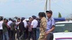 В селе Орок под Бишкеком произошли погромы и массовые аресты