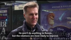 Russians Hope Trump Will Improve Relations