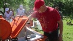 В Орловському розгорнули польову кухню (відео)