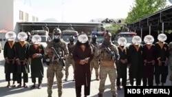 گروه دستگیر شده طالبان
