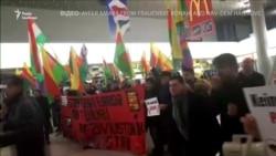 В аеропорту Ганновера побилися курди і турки (відео)