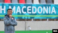 селекторот на македонската фудбалска репрезентација Игор Ангеловски
