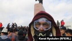Второй день беспорядков в Бишкеке, 6 октября 2020