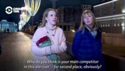 Sobchak Says She Is In Russian Election To Win