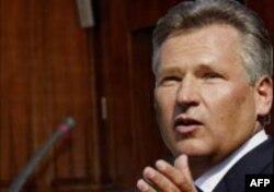 Аляксандр Квасьнеўскі, прэзыдэнт Польшчы ў 1995-2005 гг.