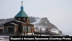 Православная церковь. Ольхон. Байкал