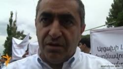 Ռուստամյան. «Որեւէ մեկը իրավունք չունի Վերահսկիչ պալատին սովորեցնելու»