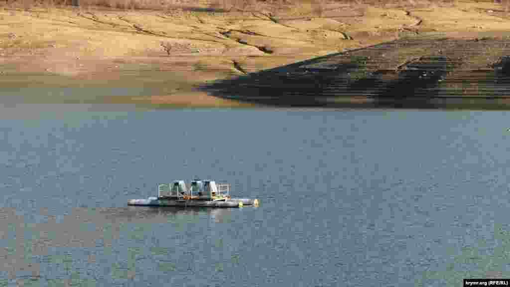 Счастливенское водохранилище расположено на высоте 466 метров над уровнем моря, на северном лесистом склоне Ай-Петринской яйлы, в верховьях реки Бельбек