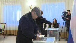 Russians in Kyrgyzstan Vote In Presidential Election