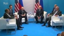Trump və Putin dövlət başçısı kimi ilk dəfə görüşdülər
