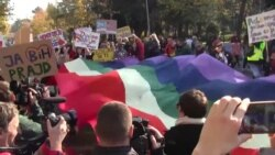 LGBT Activists March in Montenegrin Pride Parade