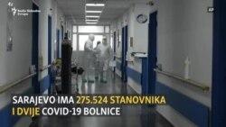 U sarajevskoj COVID-bolnici