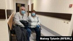 Адвокат Андрей Московчук и пострадавшая Татьяна Гудкова