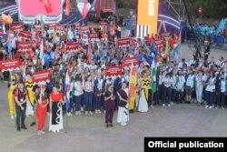 Открытие финала чемпионата WorldSkills Russia в Уфе