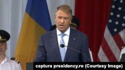 Klaus Iohannis a spus că România va continua să consolideze relația cu SUA