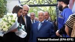 Глава МИД Сирии (в центре)