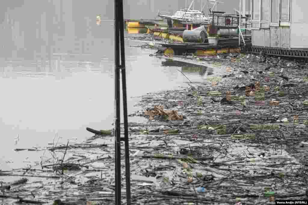 Проблемот со ѓубрето што лебди на површината на реките постои со години.