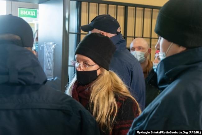 Уляна Супрун у приміщенні суду