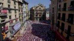 Испаниянинг Памплонасида Сан-Фермин фестивали бошланди