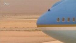 Пешвозгирии Президенти ИМА Доналд Трамп дар Арабистони Саудӣ