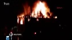 Qızlar yataqxanasındakı yanğında 12 nəfər öldü