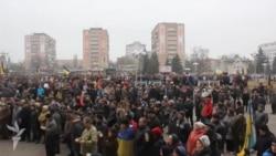 Черкащани на мітингу висловилися проти агресії Путіна