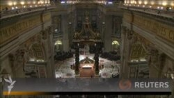Папа Римський Франциск відслужив першу Різдвяну месу