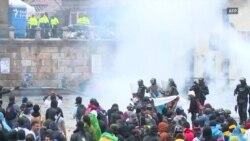 Sukobi sa policijom na protestima u Bogoti