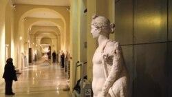 Prekriveni kipovi tokom Rohanijeve posjete Vatikanu