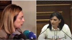 ԱԺ փոխխոսնակ Լենա Նազարյանը իշխանությանը քննադատող պատգամավորին անվանեց «իդիոտկա»