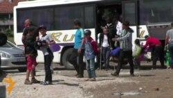 Мигранти во помали групи пристигнуваат во Табановце