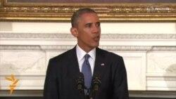 باراك اوباما أجاز توجيه ضربات جوية ضد مقاتلي تنظيم الدولة الاسلامية