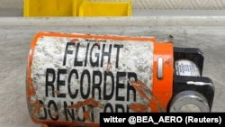 The flight recorder from the Ukraine International Airlines (UIA) jet