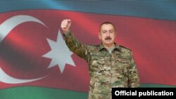 Президент Азербайджана Ильхам Алиев, 8 ноября 2020