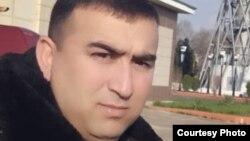 Шерафган Хоҷақулов, корманди фурудгоҳи Душанбе, ки худкушӣ кардааст. Акс аз наздиконаш
