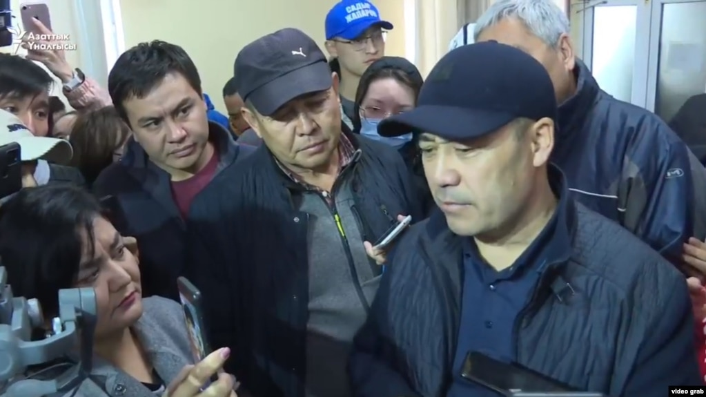 Novi premijer Kirgistana Sadir Caparov 6 oktobra 2020.