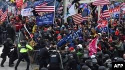 ԱՄՆ - Դոնալդ Թրամփի աջակիցների հարձակումը Կոնգրեսի վրա, Վաշինգտոն, 6-ը հունվարի, 2021թ.