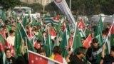 Шествие черкесов и абхазов 21 мая, в День памяти и скорби черкесского народа