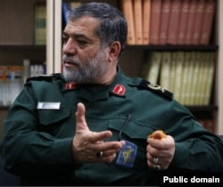 Salar Abnoush Operational Commander of the Basij