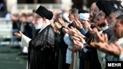 آیتالله خامنهای در نماز عید فطر روز چهارشنبه، ۱۵ خردادماه