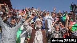 Афганские футбольные фанаты