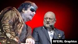 """Убитый ливийский лидер Муаммар Каддафи, """"герой"""" чеченского министра Джамбулата Умарова. На него он, похоже, и равняется"""
