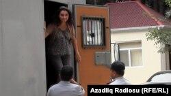Нигяр Ягублу доставлена на суд, Баку, 20 сентября 2012
