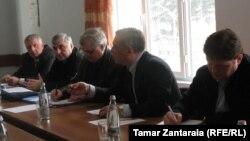 გიორგი ვოლსკის შეხვედრა კონფლიქტის თემებზე მომუშავე არასამთავრობო სექტორის წარმომადგენლებთან